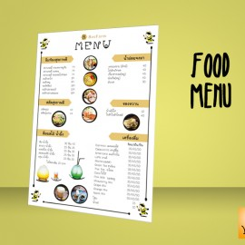 Food Menu at B Farm